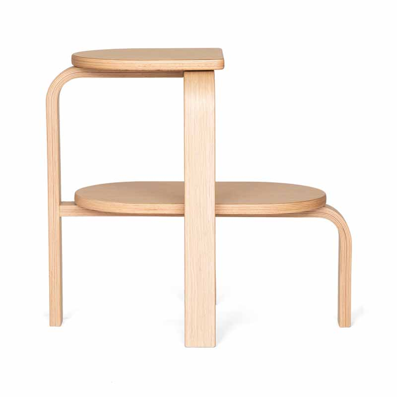 Case Furniture Altura Step Dining Stool by Patricia  Perez Olson and Baker - Designer & Contemporary Sofas, Furniture - Olson and Baker showcases original designs from authentic, designer brands. Buy contemporary furniture, lighting, storage, sofas & chairs at Olson + Baker.