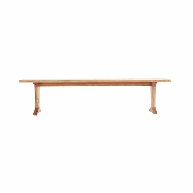 Case Furniture Ballet Bench by Mathew Hilton Olson and Baker - Designer & Contemporary Sofas, Furniture - Olson and Baker showcases original designs from authentic, designer brands. Buy contemporary furniture, lighting, storage, sofas & chairs at Olson + Baker.