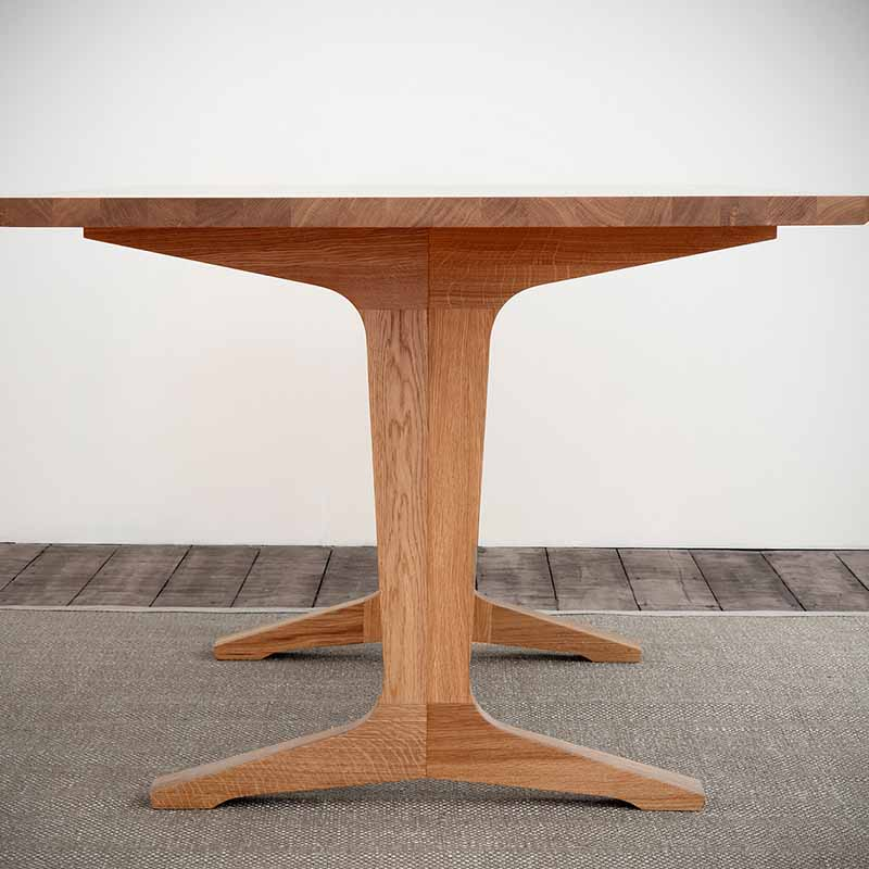 Case Furniture Ballet Table by Mathew Hilton Olson and Baker - Designer & Contemporary Sofas, Furniture - Olson and Baker showcases original designs from authentic, designer brands. Buy contemporary furniture, lighting, storage, sofas & chairs at Olson + Baker.