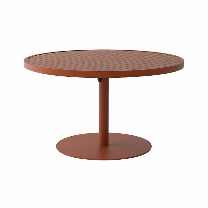 Case Furniture Eos Ø130cm Round Dining Table by Mathew Hilton Olson and Baker - Designer & Contemporary Sofas, Furniture - Olson and Baker showcases original designs from authentic, designer brands. Buy contemporary furniture, lighting, storage, sofas & chairs at Olson + Baker.