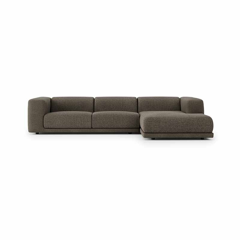 Case Furniture Kelston Three Seat Chaise Sofa by Matthew Hilton Olson and Baker - Designer & Contemporary Sofas, Furniture - Olson and Baker showcases original designs from authentic, designer brands. Buy contemporary furniture, lighting, storage, sofas & chairs at Olson + Baker.