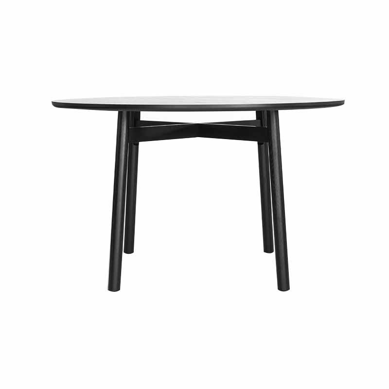 Case Furniture Kigumi Ø125cm Round Dining Table by Nazanin Kamali Olson and Baker - Designer & Contemporary Sofas, Furniture - Olson and Baker showcases original designs from authentic, designer brands. Buy contemporary furniture, lighting, storage, sofas & chairs at Olson + Baker.