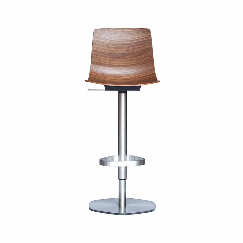 Case Furniture Loku Adjustable Piston Bar Stool by Shin Azumi Olson and Baker - Designer & Contemporary Sofas, Furniture - Olson and Baker showcases original designs from authentic, designer brands. Buy contemporary furniture, lighting, storage, sofas & chairs at Olson + Baker.