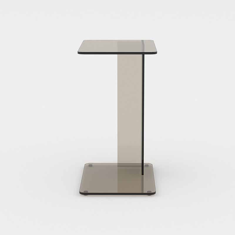 Case Furniture Lucent Side Table by Matthew Hilton Olson and Baker - Designer & Contemporary Sofas, Furniture - Olson and Baker showcases original designs from authentic, designer brands. Buy contemporary furniture, lighting, storage, sofas & chairs at Olson + Baker.