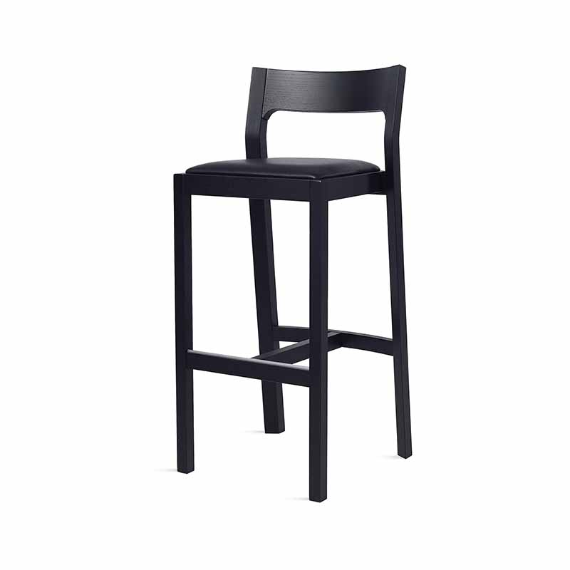 Case Furniture Profile High Bar Stool by Matthew Hilton Olson and Baker - Designer & Contemporary Sofas, Furniture - Olson and Baker showcases original designs from authentic, designer brands. Buy contemporary furniture, lighting, storage, sofas & chairs at Olson + Baker.