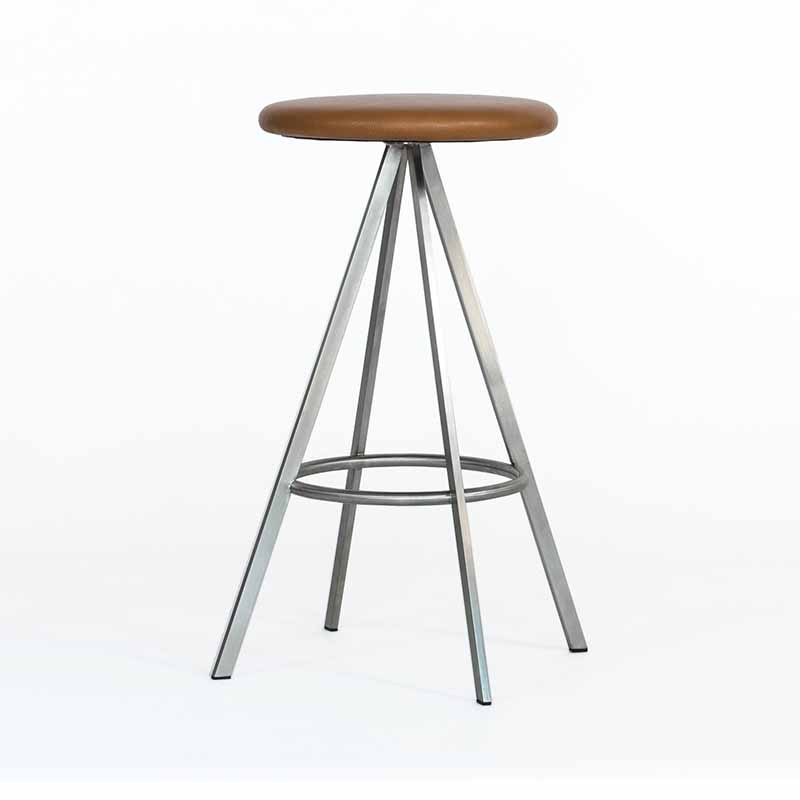 Case Furniture Quad-Space Counter Stool by Terence Woodgate Olson and Baker - Designer & Contemporary Sofas, Furniture - Olson and Baker showcases original designs from authentic, designer brands. Buy contemporary furniture, lighting, storage, sofas & chairs at Olson + Baker.