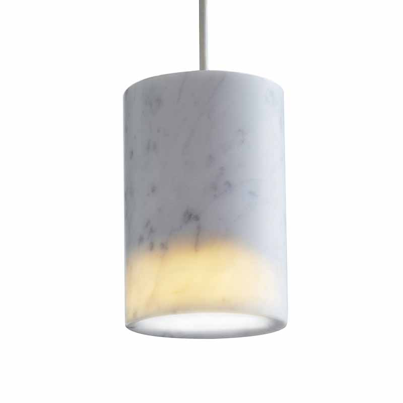 Case Furniture Solid Cylinder Pendant - Cluster of Six by Terence Woodgate Olson and Baker - Designer & Contemporary Sofas, Furniture - Olson and Baker showcases original designs from authentic, designer brands. Buy contemporary furniture, lighting, storage, sofas & chairs at Olson + Baker.