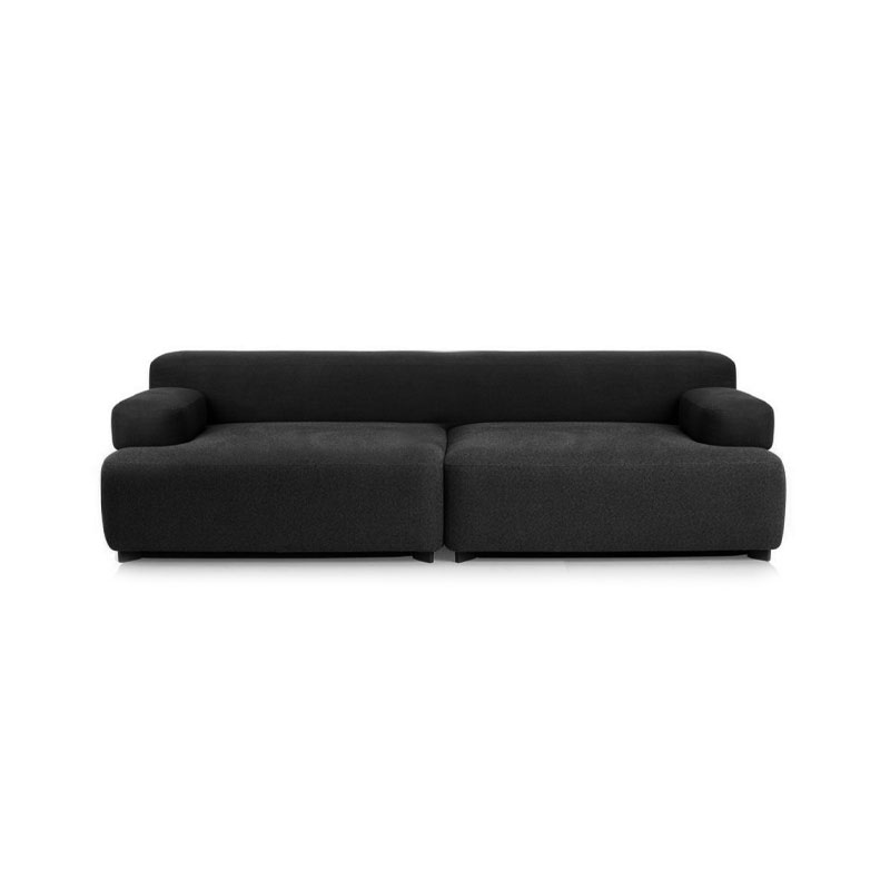 Fritz Hansen Alphabet Two Seat Sofa by Piero Lissoni Olson and Baker - Designer & Contemporary Sofas, Furniture - Olson and Baker showcases original designs from authentic, designer brands. Buy contemporary furniture, lighting, storage, sofas & chairs at Olson + Baker.
