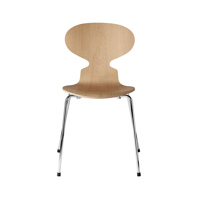 Fritz Hansen Ant Chair in Natural Veneer by Arne Jacobsen Olson and Baker - Designer & Contemporary Sofas, Furniture - Olson and Baker showcases original designs from authentic, designer brands. Buy contemporary furniture, lighting, storage, sofas & chairs at Olson + Baker.