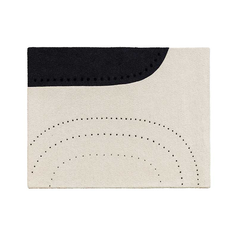 Fritz Hansen Dotted Balance Rug by Cecilie Manz Olson and Baker - Designer & Contemporary Sofas, Furniture - Olson and Baker showcases original designs from authentic, designer brands. Buy contemporary furniture, lighting, storage, sofas & chairs at Olson + Baker.
