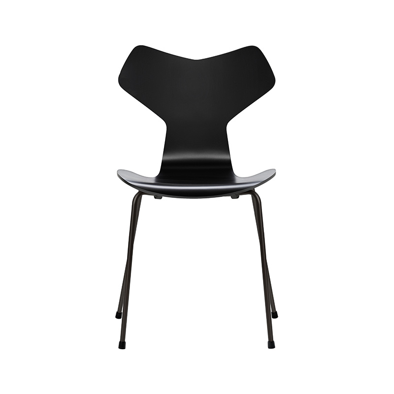 Fritz Hansen Grand Prix Chair in Lacquered Ash by Arne Jacobsen Olson and Baker - Designer & Contemporary Sofas, Furniture - Olson and Baker showcases original designs from authentic, designer brands. Buy contemporary furniture, lighting, storage, sofas & chairs at Olson + Baker.