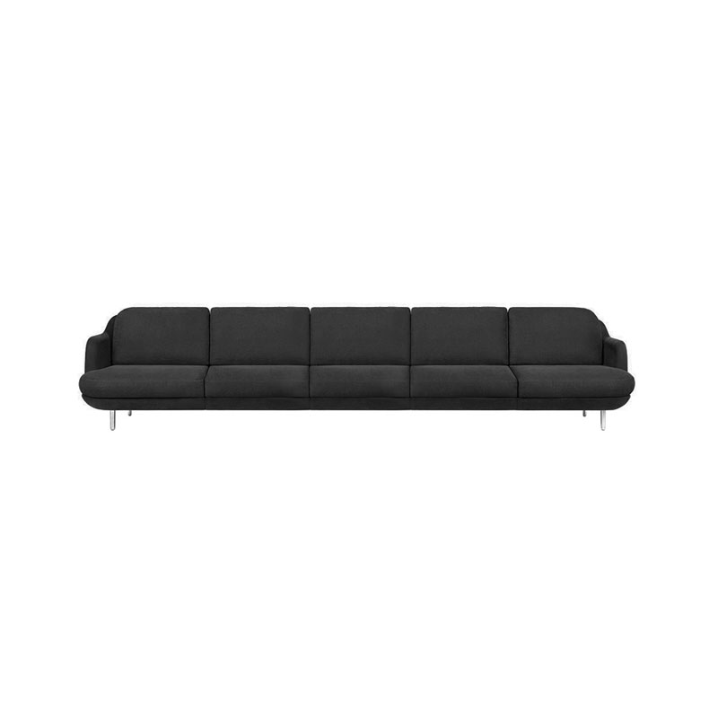 Fritz Hansen Lune Five Seat Sofa by Jaime Hayon Olson and Baker - Designer & Contemporary Sofas, Furniture - Olson and Baker showcases original designs from authentic, designer brands. Buy contemporary furniture, lighting, storage, sofas & chairs at Olson + Baker.