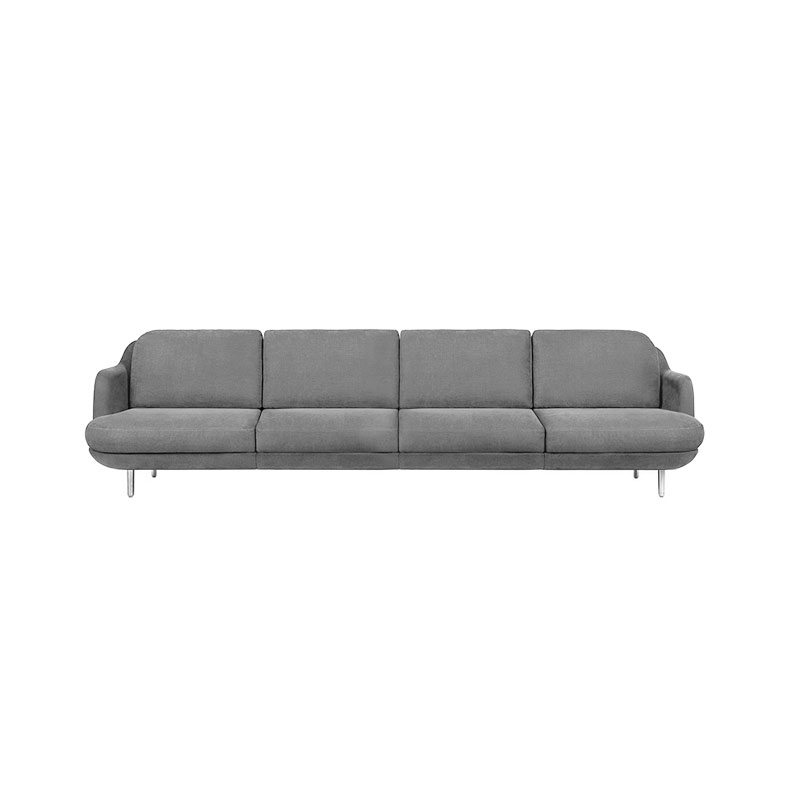 Fritz Hansen Lune Four Seat Sofa by Jaime Hayon Olson and Baker - Designer & Contemporary Sofas, Furniture - Olson and Baker showcases original designs from authentic, designer brands. Buy contemporary furniture, lighting, storage, sofas & chairs at Olson + Baker.