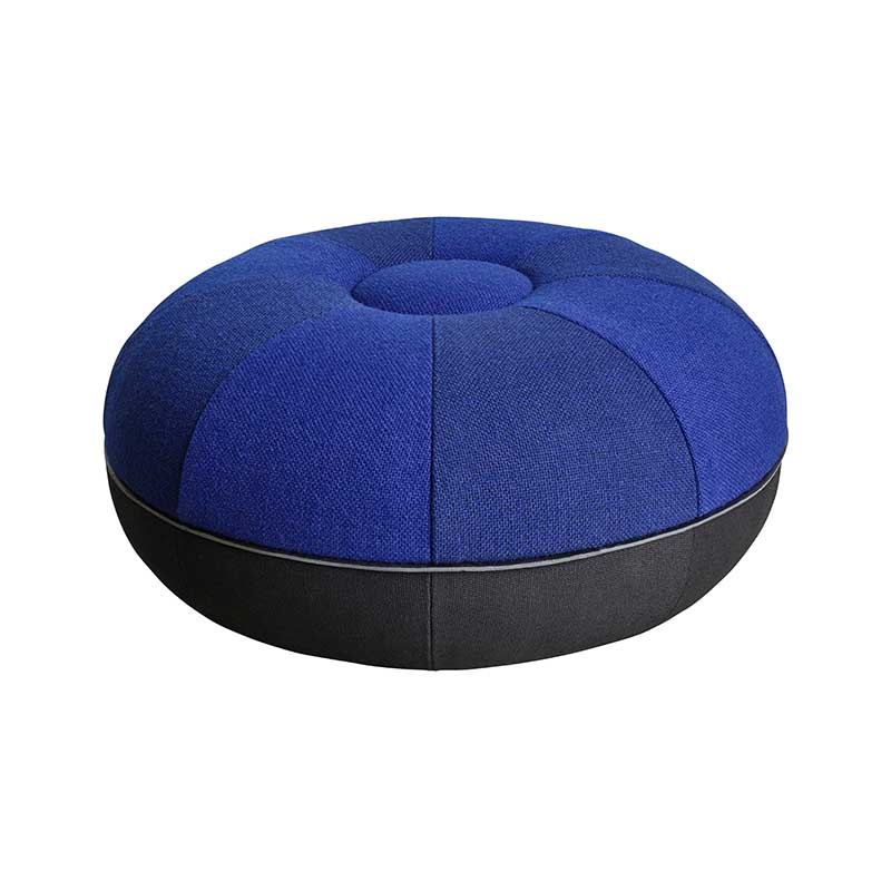 Fritz Hansen Manz 50x24cm Pouf by Cecilie Manz Olson and Baker - Designer & Contemporary Sofas, Furniture - Olson and Baker showcases original designs from authentic, designer brands. Buy contemporary furniture, lighting, storage, sofas & chairs at Olson + Baker.