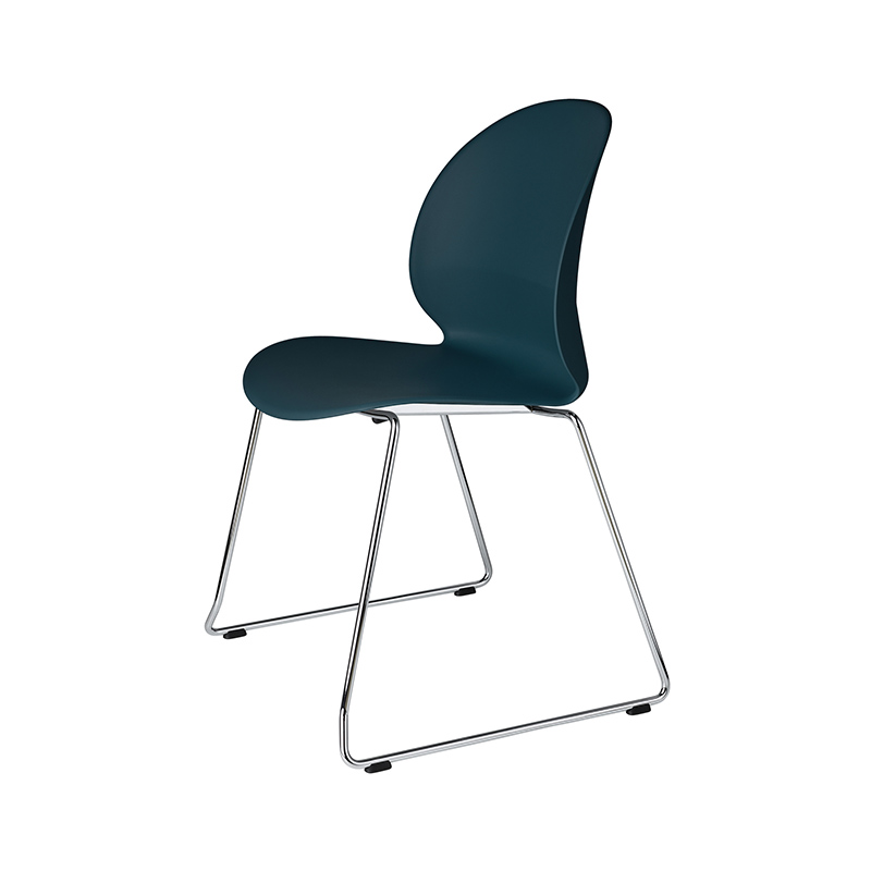Fritz Hansen N02 Recycle Stackable Chair with Sledge Base by Nendo Olson and Baker - Designer & Contemporary Sofas, Furniture - Olson and Baker showcases original designs from authentic, designer brands. Buy contemporary furniture, lighting, storage, sofas & chairs at Olson + Baker.