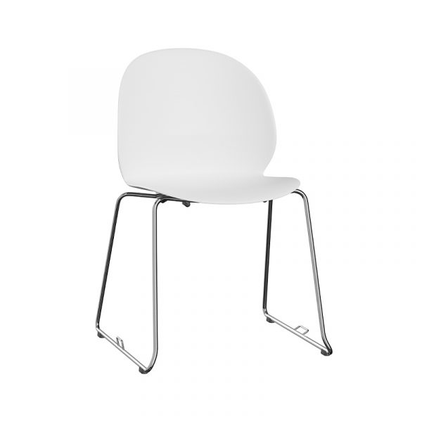 N02 Recycle Stackable Chair with Sledge Base