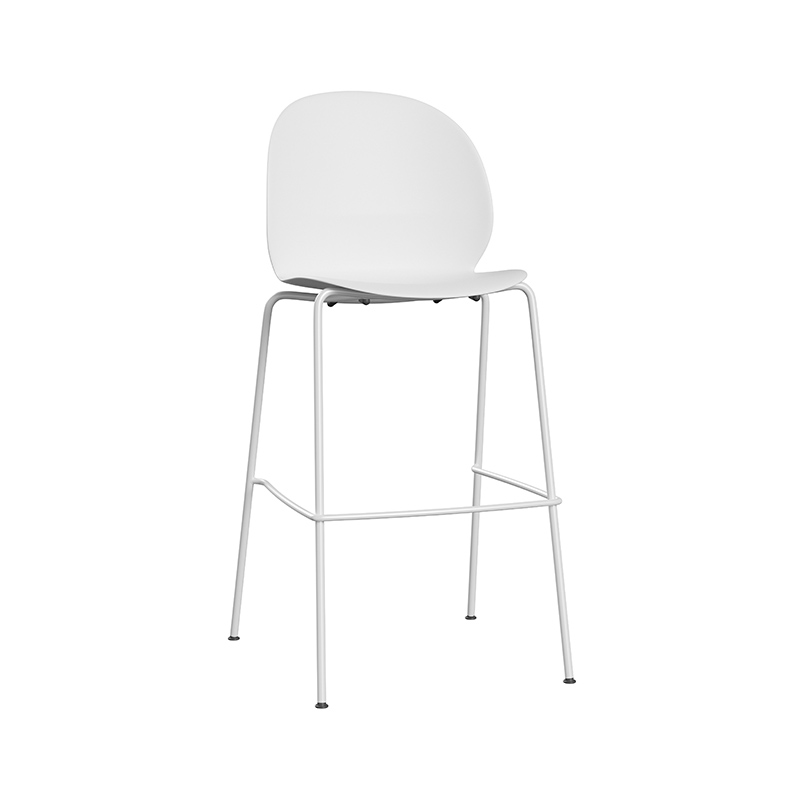 Fritz Hansen N02 Recycle Stackable High Bar Stool by Nendo Olson and Baker - Designer & Contemporary Sofas, Furniture - Olson and Baker showcases original designs from authentic, designer brands. Buy contemporary furniture, lighting, storage, sofas & chairs at Olson + Baker.