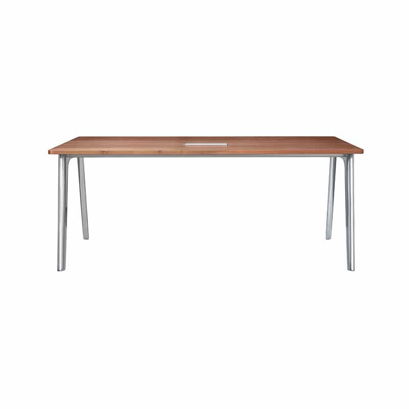 Fritz Hansen Pluralis 180x90cm Table by Kasper Salto Olson and Baker - Designer & Contemporary Sofas, Furniture - Olson and Baker showcases original designs from authentic, designer brands. Buy contemporary furniture, lighting, storage, sofas & chairs at Olson + Baker.
