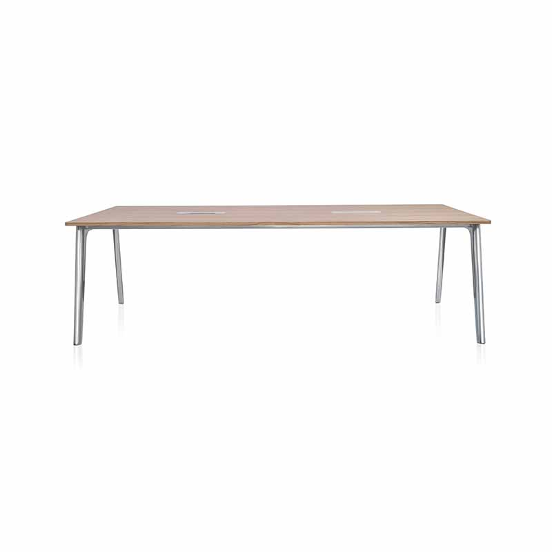 Fritz Hansen Pluralis 240x120cm Table by Kasper Salto Olson and Baker - Designer & Contemporary Sofas, Furniture - Olson and Baker showcases original designs from authentic, designer brands. Buy contemporary furniture, lighting, storage, sofas & chairs at Olson + Baker.