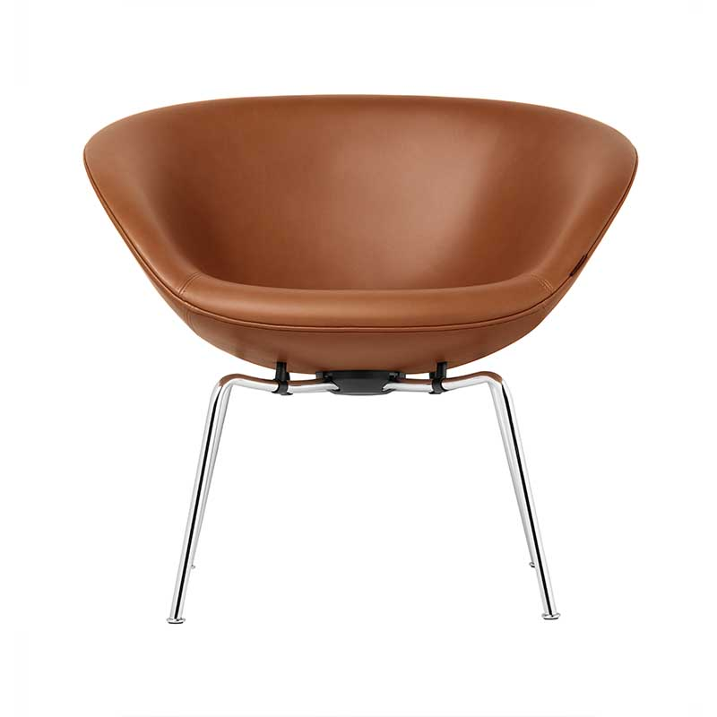 Fritz Hansen Pot Lounge Chair by Arne Jacobsen Olson and Baker - Designer & Contemporary Sofas, Furniture - Olson and Baker showcases original designs from authentic, designer brands. Buy contemporary furniture, lighting, storage, sofas & chairs at Olson + Baker.