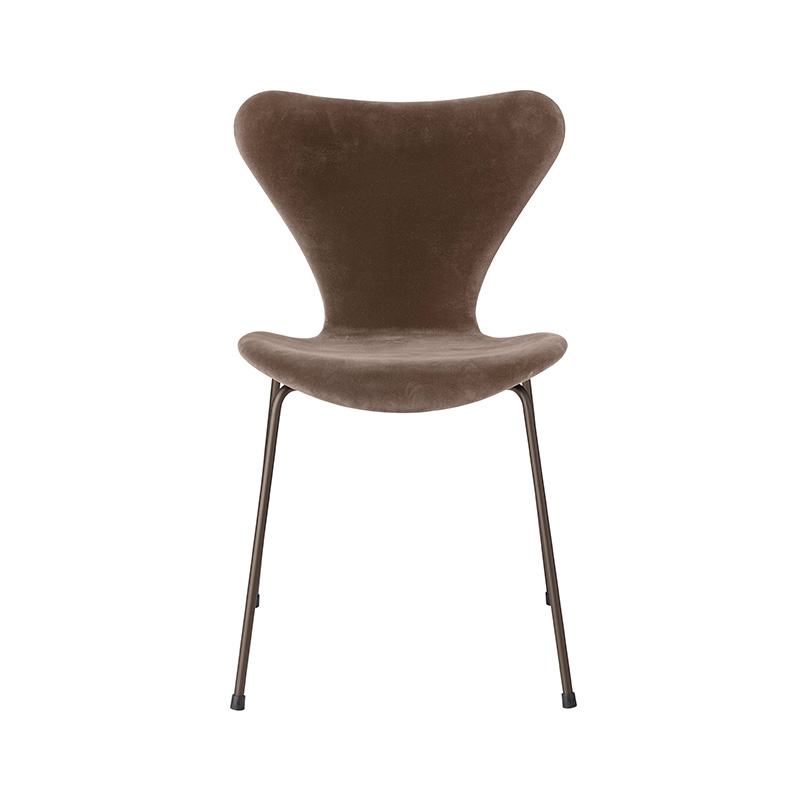 Fritz Hansen Series 7 Fully Upholstered Chair by Arne Jacobsen Olson and Baker - Designer & Contemporary Sofas, Furniture - Olson and Baker showcases original designs from authentic, designer brands. Buy contemporary furniture, lighting, storage, sofas & chairs at Olson + Baker.
