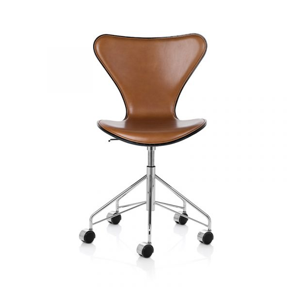 Series 7 Fully Upholstered Chair with Swivel Base