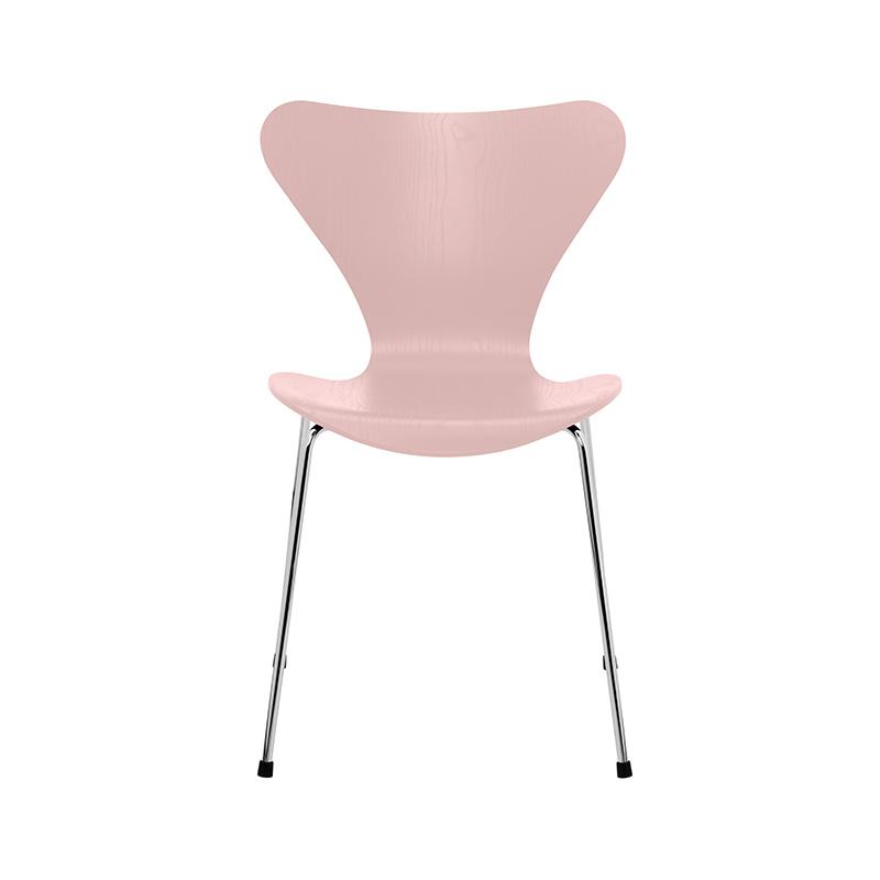 Fritz Hansen Series 7 Chair in Coloured Ash by Arne Jacobsen Olson and Baker - Designer & Contemporary Sofas, Furniture - Olson and Baker showcases original designs from authentic, designer brands. Buy contemporary furniture, lighting, storage, sofas & chairs at Olson + Baker.