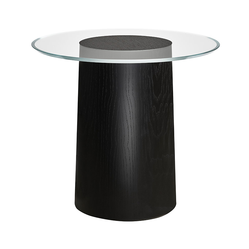 Fritz Hansen Stub Side Table by Mette Schelde Olson and Baker - Designer & Contemporary Sofas, Furniture - Olson and Baker showcases original designs from authentic, designer brands. Buy contemporary furniture, lighting, storage, sofas & chairs at Olson + Baker.