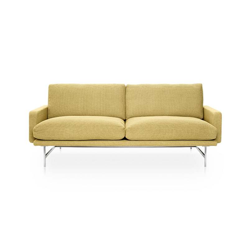 Fritz Hansen Lissoni Two Seat Sofa by Piero Lissoni Olson and Baker - Designer & Contemporary Sofas, Furniture - Olson and Baker showcases original designs from authentic, designer brands. Buy contemporary furniture, lighting, storage, sofas & chairs at Olson + Baker.