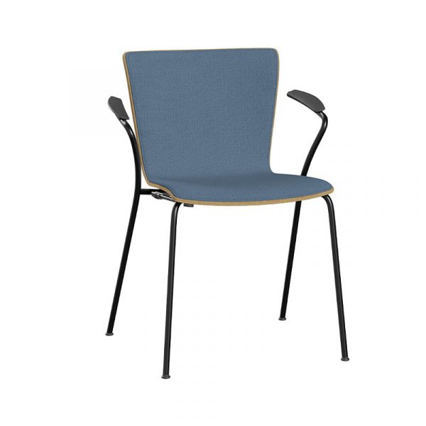 Vico Duo Front Upholstered Stackable Armchair