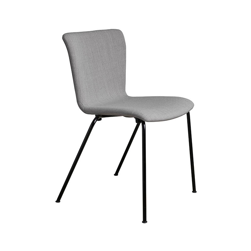 Fritz Hansen Vico Duo Fully Upholstered Stackable Chair by Vico Magistretti Olson and Baker - Designer & Contemporary Sofas, Furniture - Olson and Baker showcases original designs from authentic, designer brands. Buy contemporary furniture, lighting, storage, sofas & chairs at Olson + Baker.