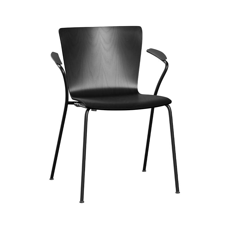 Fritz Hansen Vico Duo Stackable Armchair with Welded Linking Device by Vico Magistretti Olson and Baker - Designer & Contemporary Sofas, Furniture - Olson and Baker showcases original designs from authentic, designer brands. Buy contemporary furniture, lighting, storage, sofas & chairs at Olson + Baker.