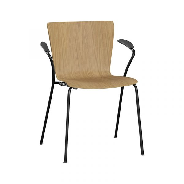 Vico Duo Stackable Armchair with Welded Linking Device