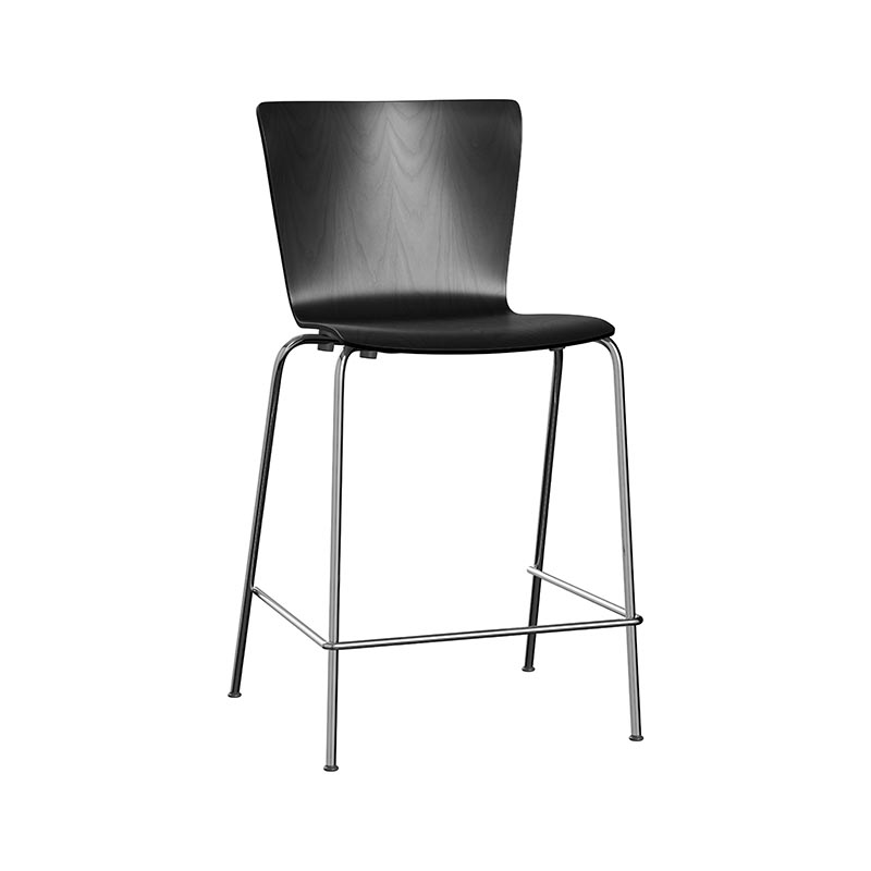 Fritz Hansen Vico Duo Stackable Counter Stool by Vico Magistretti Olson and Baker - Designer & Contemporary Sofas, Furniture - Olson and Baker showcases original designs from authentic, designer brands. Buy contemporary furniture, lighting, storage, sofas & chairs at Olson + Baker.