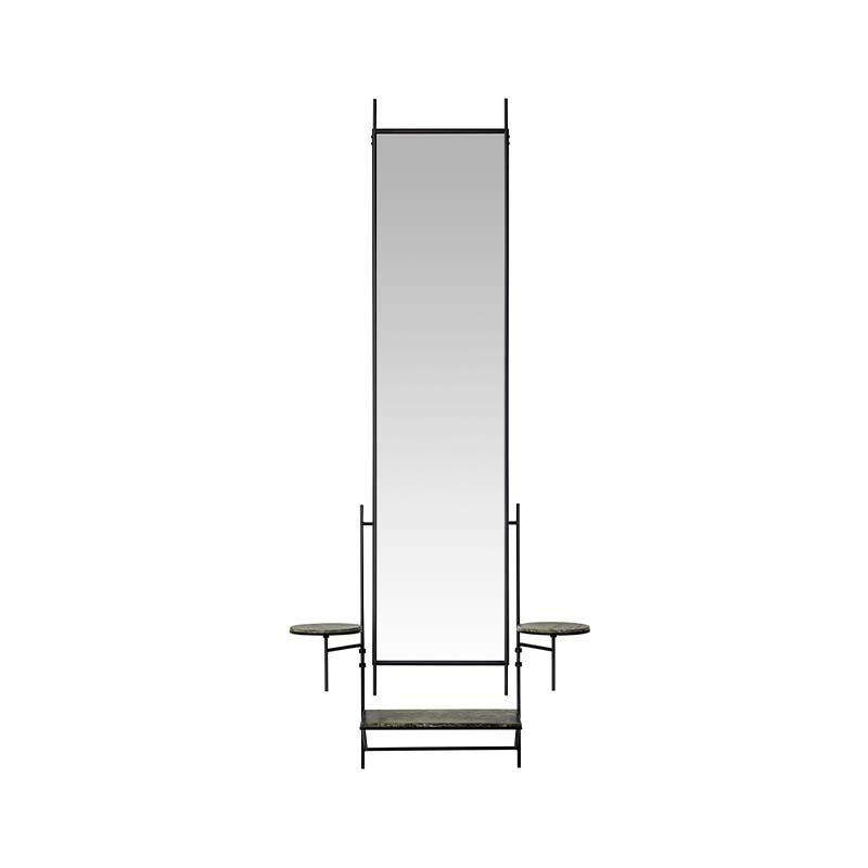 Fritz Hansen Wall Mirror by Paul Mccobb Olson and Baker - Designer & Contemporary Sofas, Furniture - Olson and Baker showcases original designs from authentic, designer brands. Buy contemporary furniture, lighting, storage, sofas & chairs at Olson + Baker.