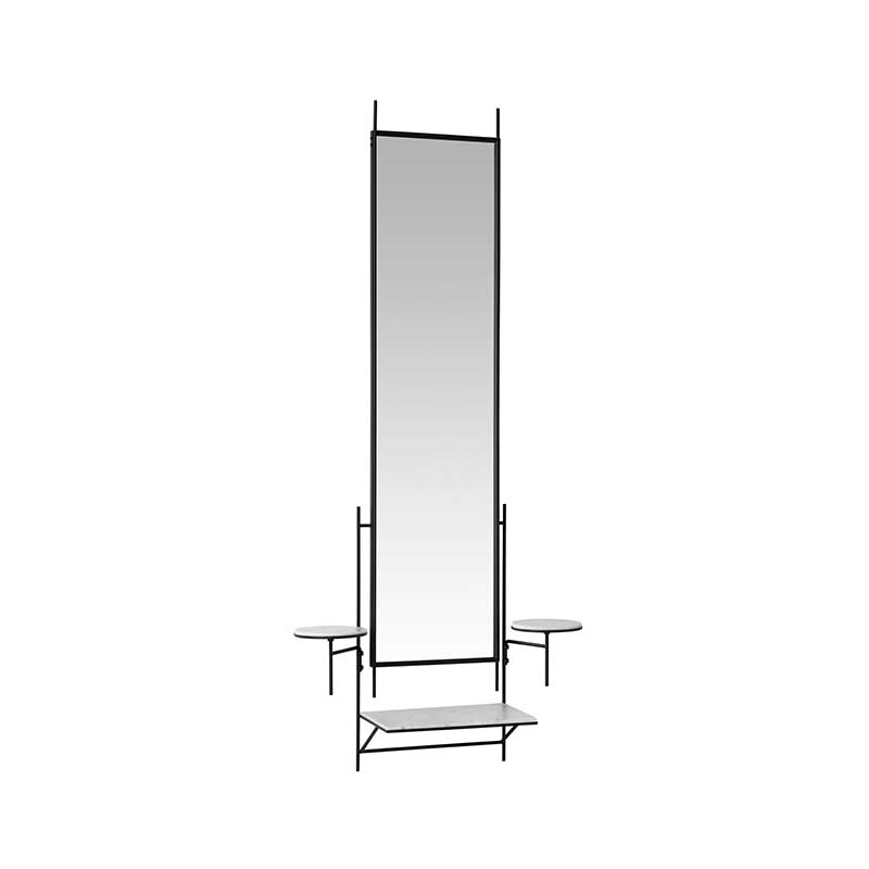 Fritz_Hansen_Wall_Mirror_by_Paul_Mccobb_2 Olson and Baker - Designer & Contemporary Sofas, Furniture - Olson and Baker showcases original designs from authentic, designer brands. Buy contemporary furniture, lighting, storage, sofas & chairs at Olson + Baker.