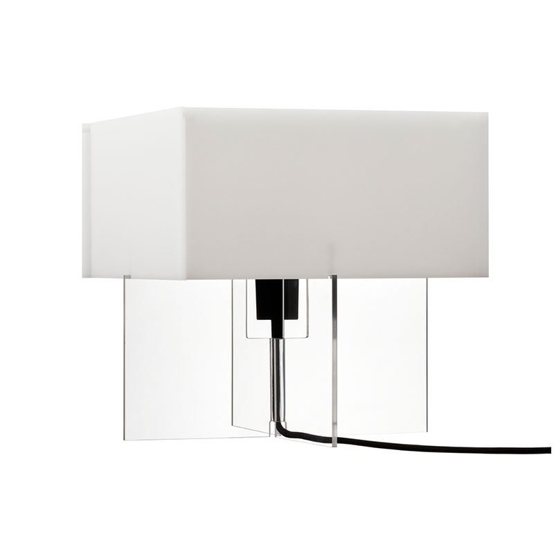 Fritz Hansen Cross-Plex T-300 Table Lamp by Bodil Kjær Olson and Baker - Designer & Contemporary Sofas, Furniture - Olson and Baker showcases original designs from authentic, designer brands. Buy contemporary furniture, lighting, storage, sofas & chairs at Olson + Baker.