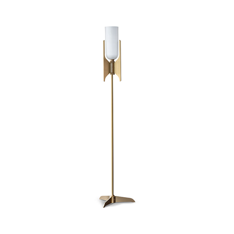 Bert Frank Pennon Floor Lamp by Bert Frank Olson and Baker - Designer & Contemporary Sofas, Furniture - Olson and Baker showcases original designs from authentic, designer brands. Buy contemporary furniture, lighting, storage, sofas & chairs at Olson + Baker.