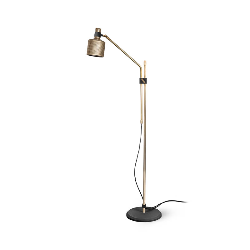 Bert Frank Riddle Single Floor Lamp by Bert Frank Olson and Baker - Designer & Contemporary Sofas, Furniture - Olson and Baker showcases original designs from authentic, designer brands. Buy contemporary furniture, lighting, storage, sofas & chairs at Olson + Baker.