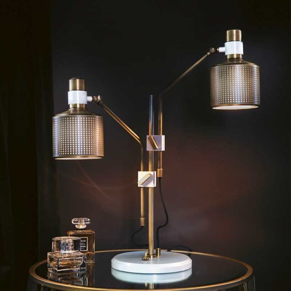 Riddle Table Lamp Double