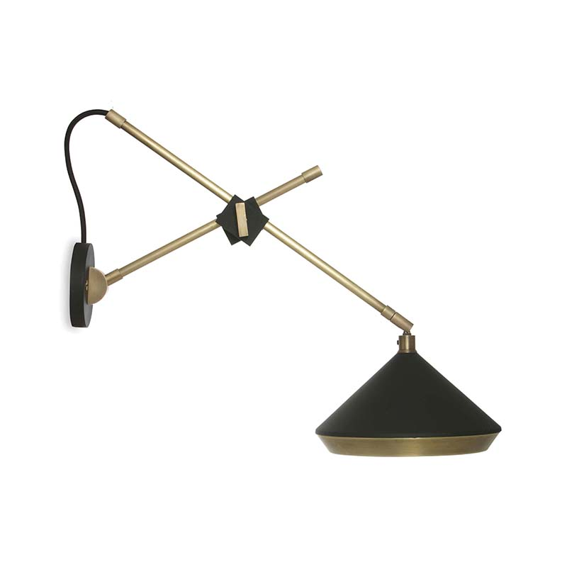Bert Frank Shear Wall Lamp by Bert Frank Olson and Baker - Designer & Contemporary Sofas, Furniture - Olson and Baker showcases original designs from authentic, designer brands. Buy contemporary furniture, lighting, storage, sofas & chairs at Olson + Baker.
