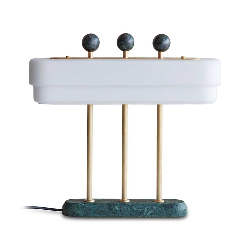 Bert Frank Spate Table Lamp by Bert Frank Olson and Baker - Designer & Contemporary Sofas, Furniture - Olson and Baker showcases original designs from authentic, designer brands. Buy contemporary furniture, lighting, storage, sofas & chairs at Olson + Baker.