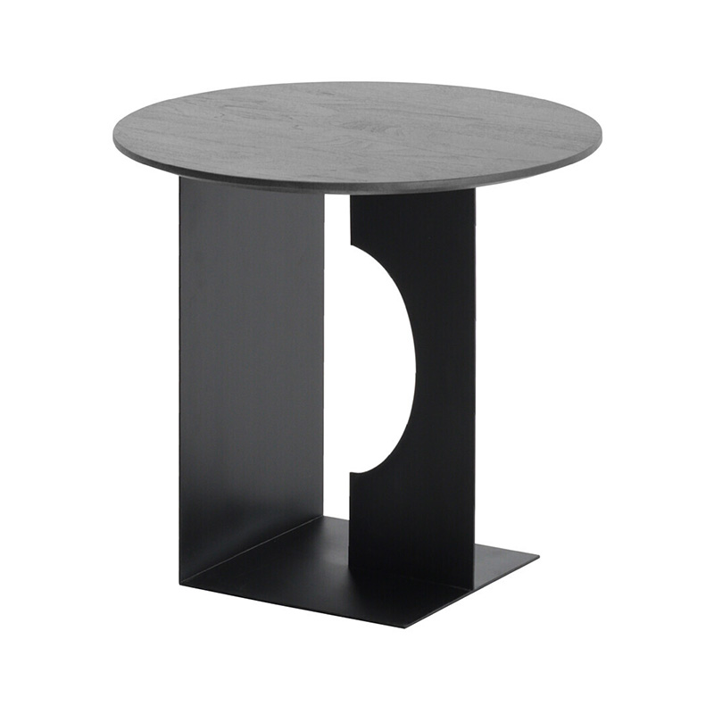 Ethnicraft Arc Side Table by Alain Van Havre Olson and Baker - Designer & Contemporary Sofas, Furniture - Olson and Baker showcases original designs from authentic, designer brands. Buy contemporary furniture, lighting, storage, sofas & chairs at Olson + Baker.