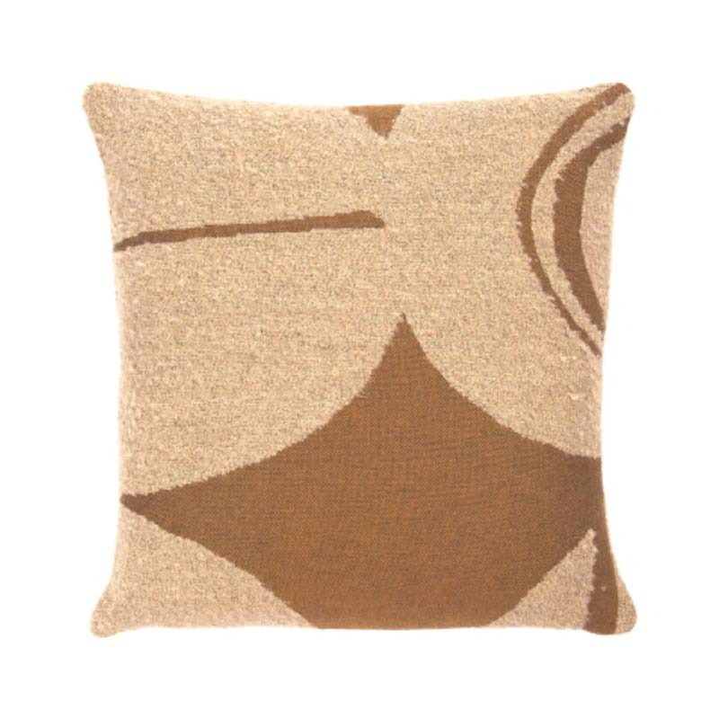 Ethnicraft Avana Orb 45x45cm Cushion by Dawn Sweitzer Olson and Baker - Designer & Contemporary Sofas, Furniture - Olson and Baker showcases original designs from authentic, designer brands. Buy contemporary furniture, lighting, storage, sofas & chairs at Olson + Baker.