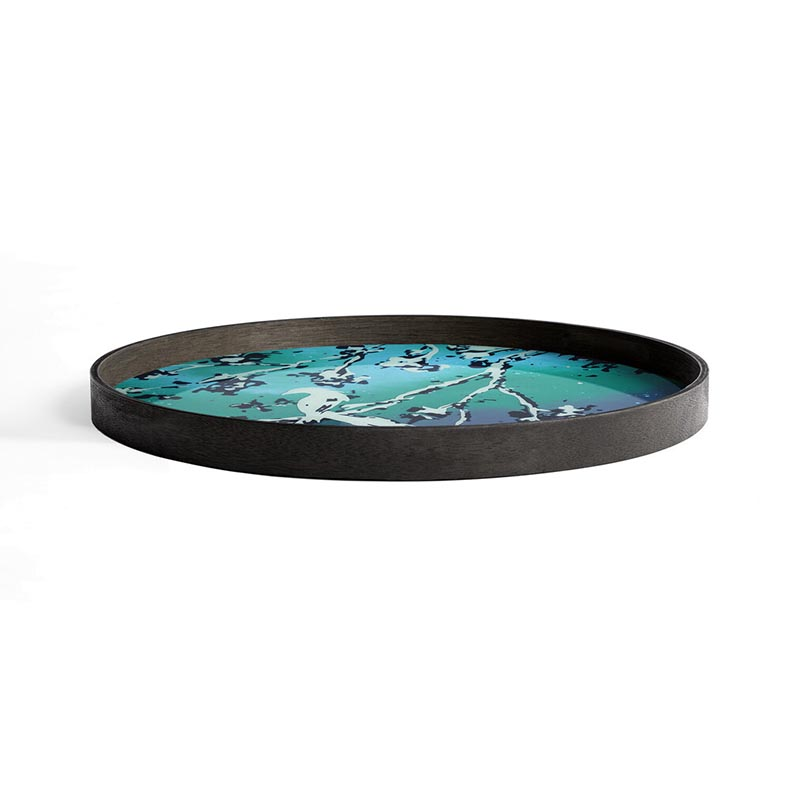 Ethnicraft_Birds_of_Paradise_glass _Tray_by_Dawn_Sweitzer_2 Olson and Baker - Designer & Contemporary Sofas, Furniture - Olson and Baker showcases original designs from authentic, designer brands. Buy contemporary furniture, lighting, storage, sofas & chairs at Olson + Baker.