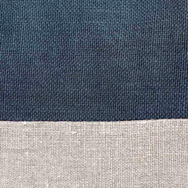 Blue Lin Sauvage 60x60cm Cushion