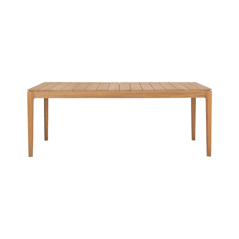 Ethnicraft Bok Outdoor Dining Table by Alain Van Havre Olson and Baker - Designer & Contemporary Sofas, Furniture - Olson and Baker showcases original designs from authentic, designer brands. Buy contemporary furniture, lighting, storage, sofas & chairs at Olson + Baker.