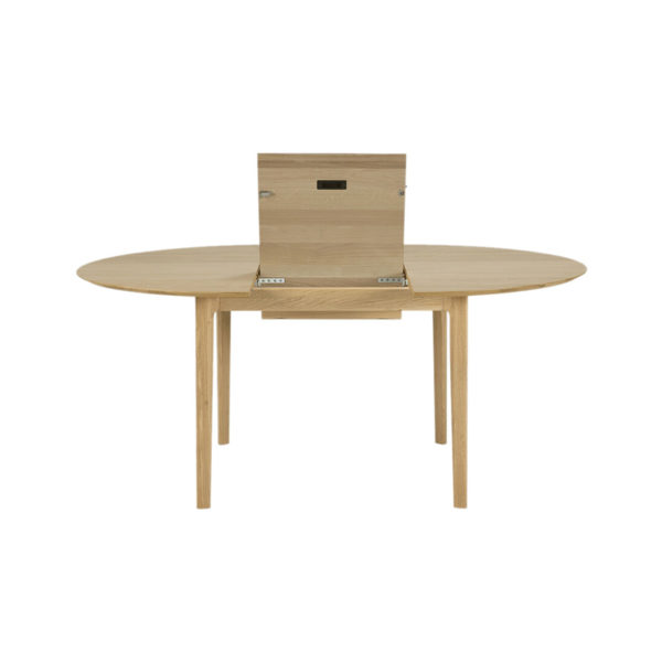 Bok 129-179cm Round Extendable Dining Table