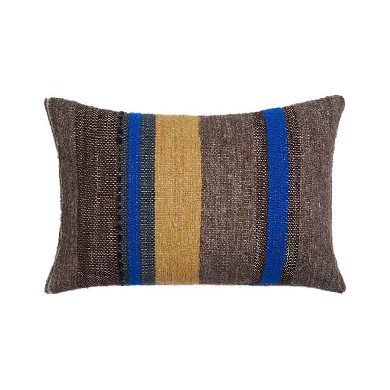 Ethnicraft Bright Tulum 60x40cm Cushion by Dawn Sweitzer Olson and Baker - Designer & Contemporary Sofas, Furniture - Olson and Baker showcases original designs from authentic, designer brands. Buy contemporary furniture, lighting, storage, sofas & chairs at Olson + Baker.