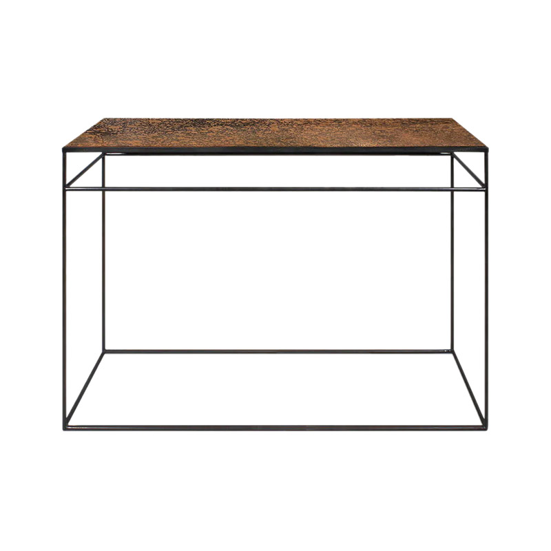 Ethnicraft Bronze Copper Console by Dawn Sweitzer Olson and Baker - Designer & Contemporary Sofas, Furniture - Olson and Baker showcases original designs from authentic, designer brands. Buy contemporary furniture, lighting, storage, sofas & chairs at Olson + Baker.